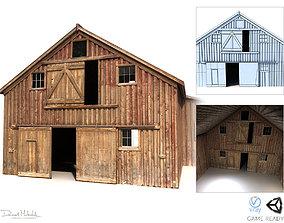 3D model Old Red Barn