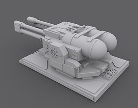 3D model Flame Turret