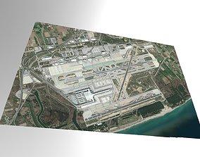 Barcelona International Airport Spain 3D