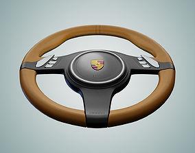 3D model Steering Wheel formula-1