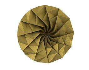 3D asset lowpoly mandala