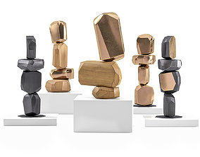 Sculptures Arik levy Micro rock formation 3D model