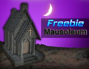 Mausoleum 3D asset VR / AR ready
