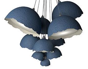 Pendant Lamp Grona 11 3D