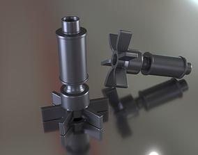 Aquarium Filter Impeller 3D printable model