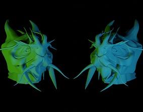 myth Dragon Head 3D