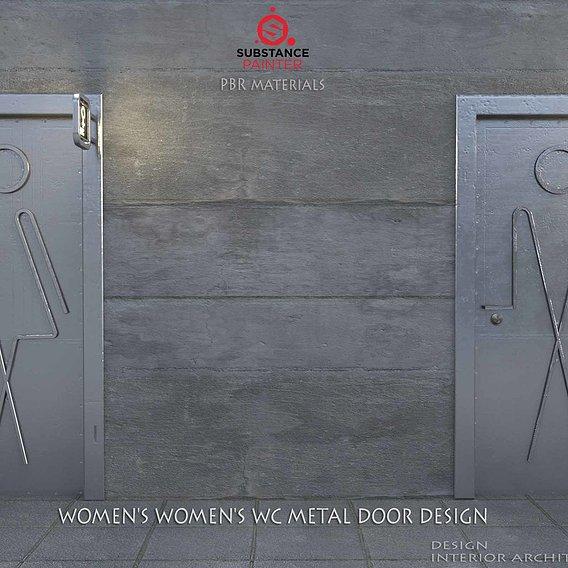 wc door