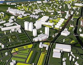 Prague city Czech Europe 3D asset