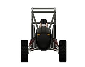 Eletric buggy car 3D