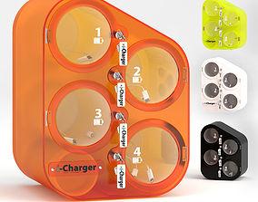 PERLA charging station i-charger perla 3D model