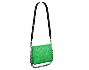3D model Louis Vuitton Coussin Bag Green