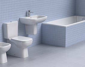 3D Duravit Sanitary Ware Collection