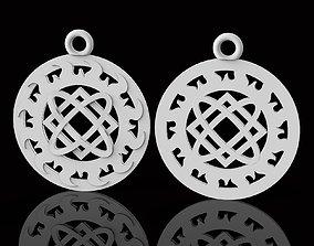 Pendant with Slavic symbol 3D print model