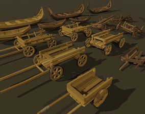 Low-Poly Pack 2 3D asset