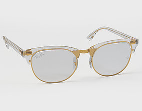 3D model Ray-Ban eyeglasses RB5154 Single Transparent Open