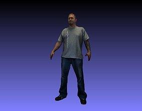 3D printable model Printle Homme 042