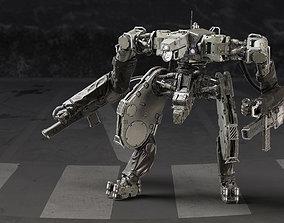 3D Battle Robot x02