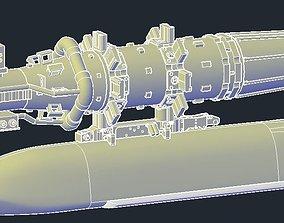3D printable model Revell B1B Lancer MPRL JASSM