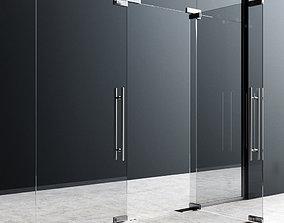 hinge 3D Fittings For Glass Doors