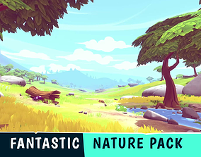 FANTASTIC - Nature Pack 3D model game-ready