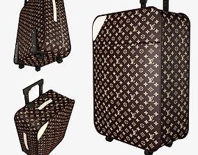 Louis Vuitton luggage bag aboard 3D