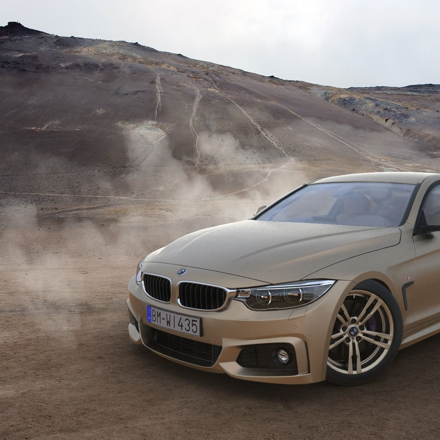 BMW 4 Series Coupe M Sport 2014