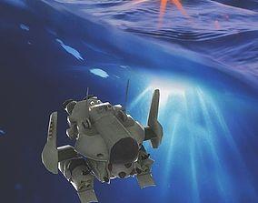 Drone submarine 3D model