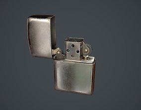 Lighter Zippo 3D asset realtime