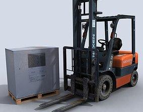 3D model Forklift