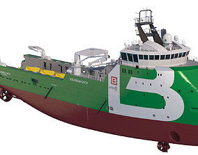 Anchor Handling Tug Supply Vessel BOURBON ORCA 3D