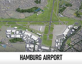 3D model Hamburg Airport