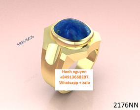 3d men ring - 3D bracelets - jewelry 3d white