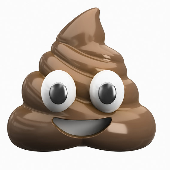 Emoji Pile of Poo 3D model