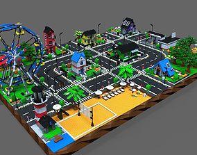 3D model Lego City game