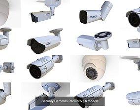 Security Cameras Pack cctv 3D model