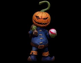 PumpkinMonster3DPrintable