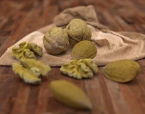 Walnut and Almond KIT 3D