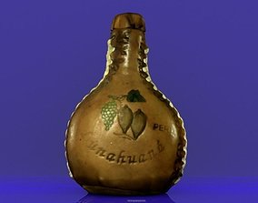 3D printable model Leather Bottle