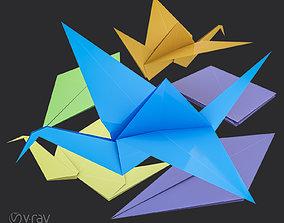 3D asset Origami