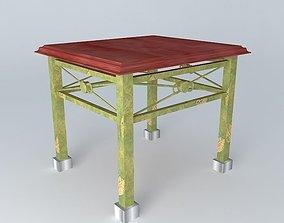 Supplementary Table 3D model