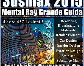Corso Completo Mental ray in 3ds max 2015 un