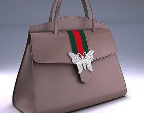 GucciTotem medium top Gucci handle bag 3D model