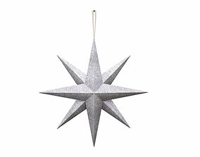 3D asset Star wall decoration with hanger