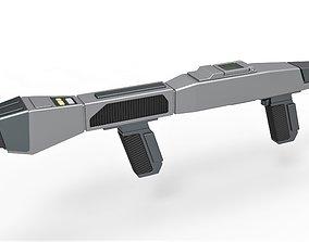 Starfleet Type 3 Phaser Rifle from Star 3D print model 3