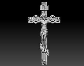 3D print model Jesus on cross