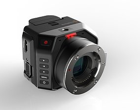 Blackmagic Micro Cinema Camera 3D model film