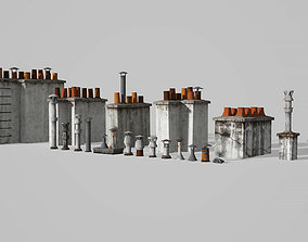 Chimneys and vents 3D model