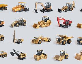 Heavy Machinery Pack dump 3D model