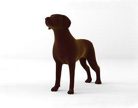 Dog full body 3D asset