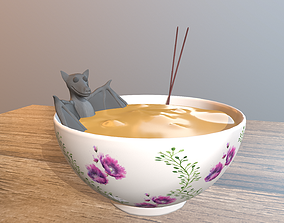 Bat soup 3D print model china